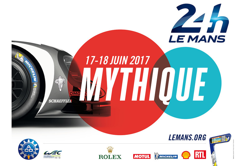 2017 Le Mans 24 Hours poster