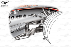 McLaren MP4-22 2007 chassis detail