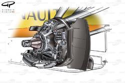 Renault R29 2009 front brake detail