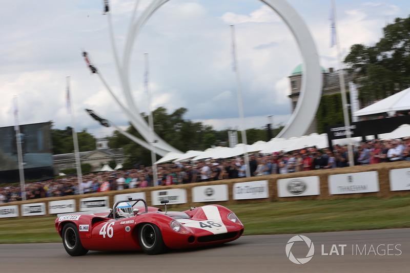 Mike Whitaker, Lola Chevrolet T70 Spyder