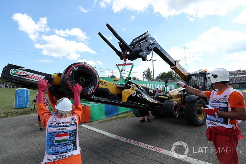 حادث سيارة جوليون بالمر، رينو