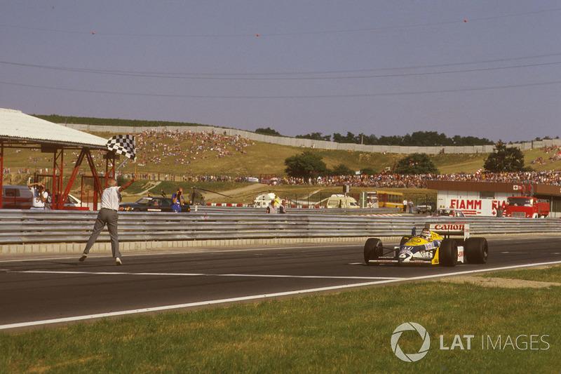 Piquet garantiu o mundial em 1987 com a consistência: o brasileiro foi sete vezes segundo colocado em uma temporada em que a diferença de pontuação entre os dois primeiros lugares era de apenas três pontos (9-6).