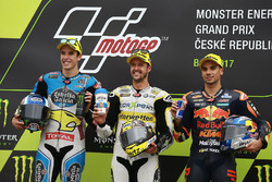 Podium: 1. Thomas Luthi, CarXpert Interwetten; 2. Alex Marquez, Marc VDS; 3. Miguel Oliveira, Red Bull KTM Ajo