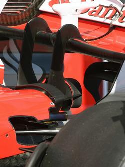 Ferrari SF70H: modificato il doppio Monkey seat