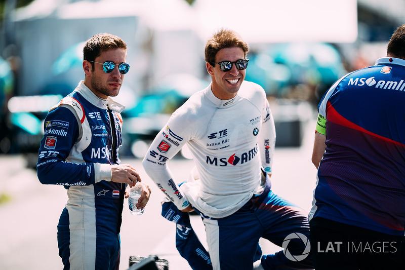 Robin Frijns, Amlin Andretti Formula E Team.  Antonio Felix da Costa, Amlin Andretti Formula E Team