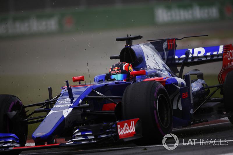 Ausritt: Daniil Kvyat, Scuderia Toro Rosso STR12