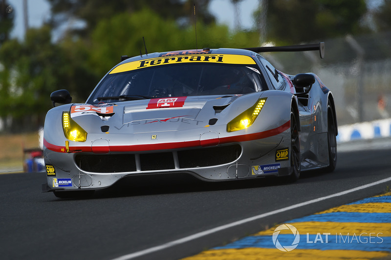LMGTE-Am: #54 Spirit of Race, Ferrari 488 GTE