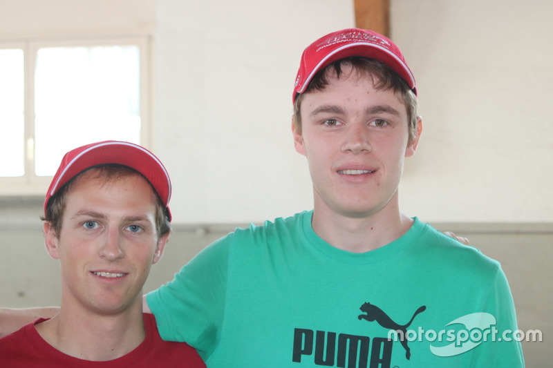 Thomas Schmid, Cornel Frigoli, Team Rallye Top