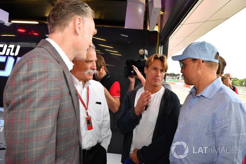 Sean Bratches, Formula One director comercial, Chase Carey, Director Ejecutivo y Presidente Ejecutiv