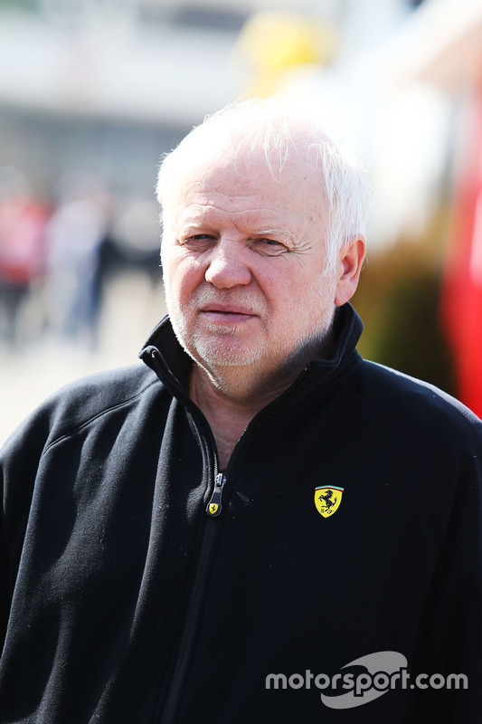 Norbert Vettel, Vater von Sebastian Vettel, Ferrari