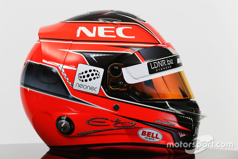 Helm von Esteban Ocon, Sahara Force India F1 Team