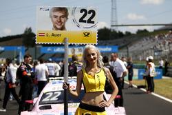 Grid girl of Lucas Auer, Mercedes-AMG Team HWA, Mercedes-AMG C63 DTM