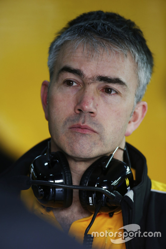 Nick Chester, Renault Sport F1 Team Technical Director