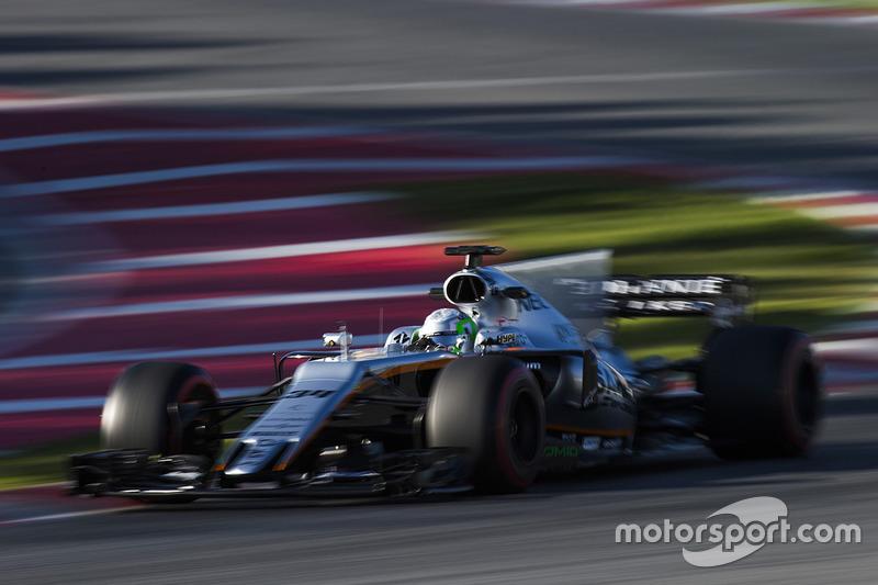 Alfonso Celis Jr., Force India VJM10