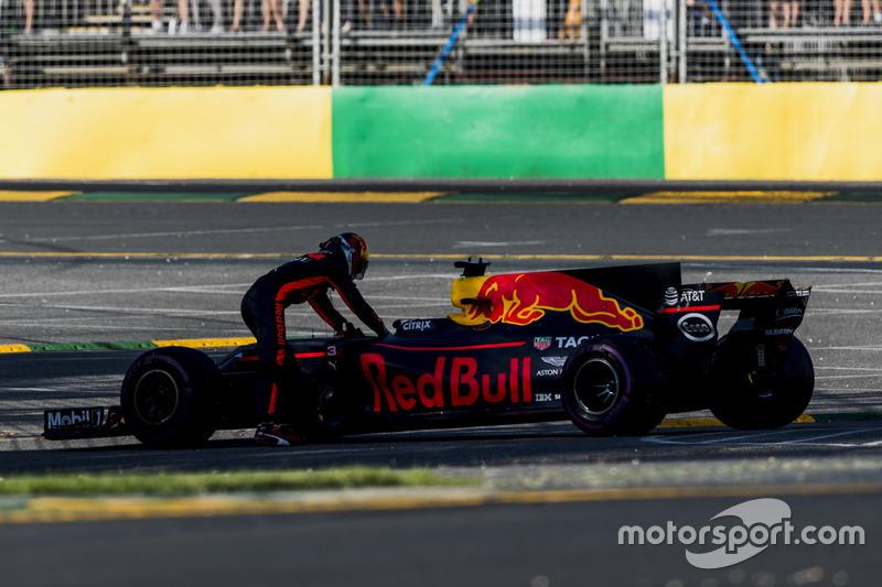 Ausfall: Daniel Ricciardo, Red Bull Racing