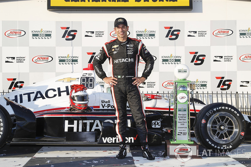 1. Helio Castroneves, Team Penske Chevrolet