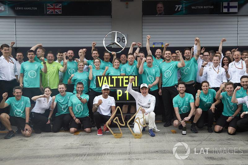 Валттері Боттас, Mercedes AMG F1, Льюіс Хемілтон, Mercedes AMG F1