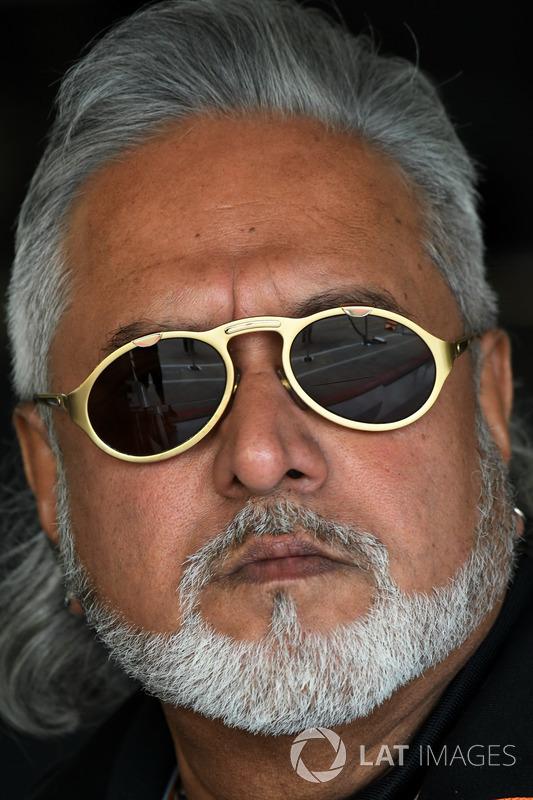 Власник Sahara Force India Formula One Віджей Маллья