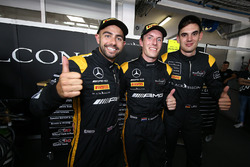 Polesitter: Adam Christodoulou, Yelmer Buurman, Luca Stolz, Mercedes-AMG Team Black Falcon