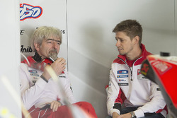 Casey Stoner, Ducati Team with Gigi Dall'Igna, Ducati Corse General Manager