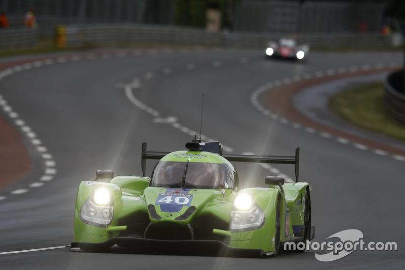 33: #40 Krohn Racing Ligier JS P2 Nissan: Tracy Krohn, Nic Jonsson, Joao Barbosa