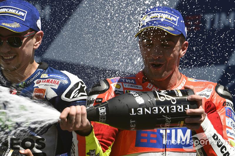 Third place Andrea Iannone, Ducati Team