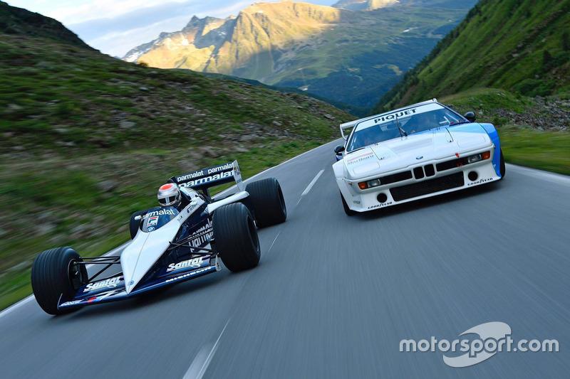 #8: Nelson Piquet Jr. fährt den Brabham BMW F1 von Vater Nelson Piquet