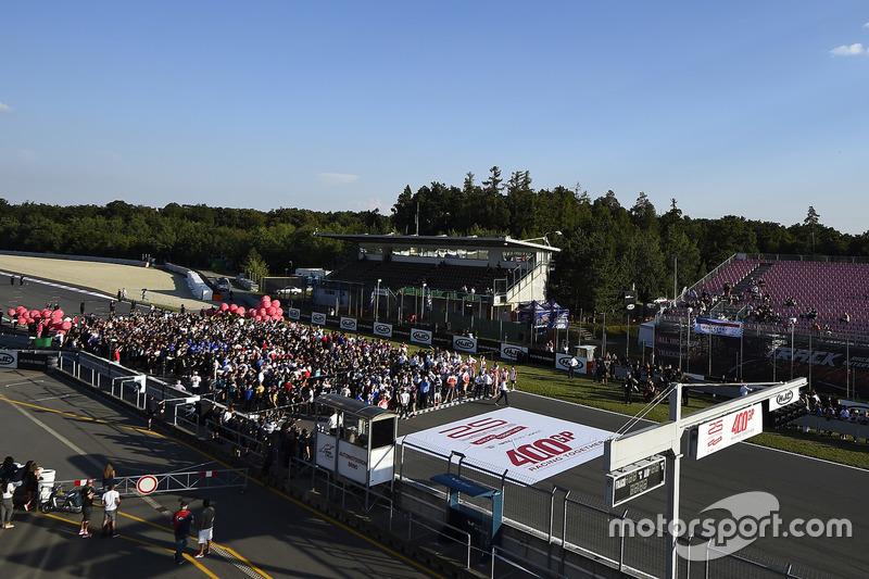 400th MotoGP start celebrations