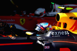 Max Verstappen, Red Bull Racing in parc ferme after winning the Spanish Formula One Grand Prix