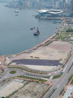 ePrix di Hong Kong, i lavori della pit-lane
