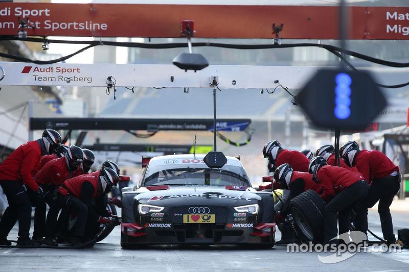 Audi Sport Team Test car