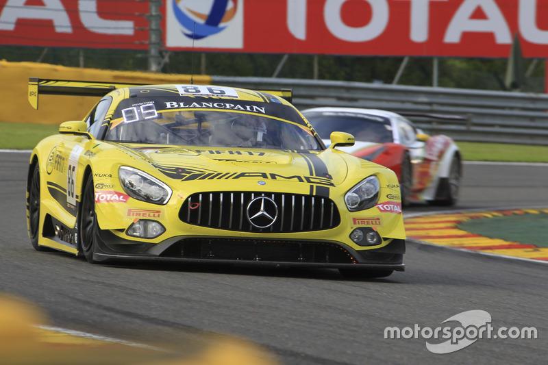 6. #86 HTP Motorsport, Mercedes-AMG GT3: Maximilian Götz, Thomas Jäger, Gary Paffett