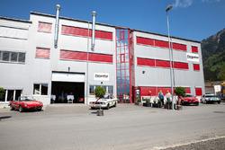 Esterno della sede della Pergolini Motorsport