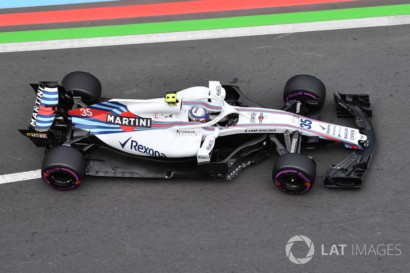 11. Sergey Sirotkin, Williams FW41