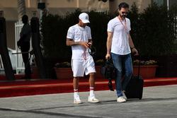 Lewis Hamilton, Mercedes AMG F1 ve Marc Hynes