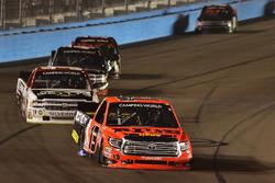Cody Coughlin, ThorSport Racing Toyota, Kaz Grala, GMS Racing Chevrolet