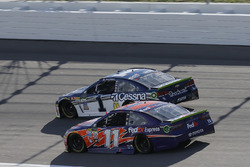 Denny Hamlin, Joe Gibbs Racing Toyota Jamie McMurray, Chip Ganassi Racing Chevrolet