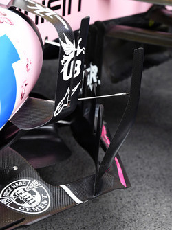 Sahara Force India VJM10 aero detail