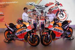 Марк Маркес, Дані Педроса, Repsol Honda Team, Тецухіро Кувата, директор Honda Racing Corp