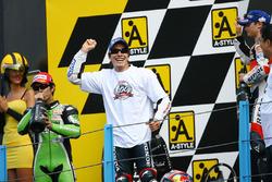 Podium: 1. Nicky Hayden, 2. Shinya Nakano, 3. Dani Pedrosa