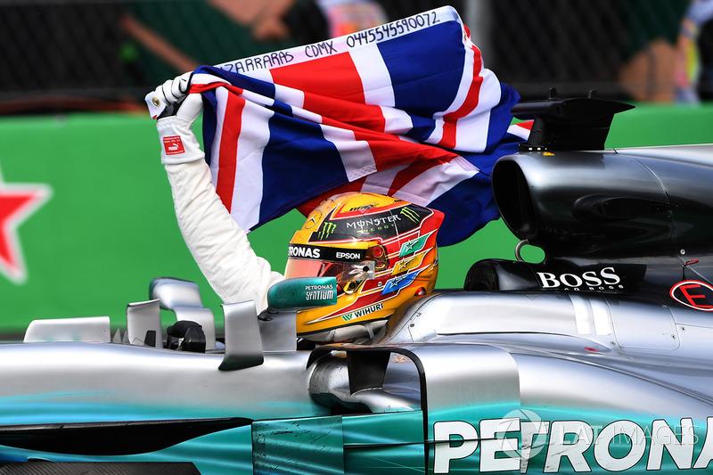 Campeón del Mundo 2017, Lewis Hamilton, Mercedes AMG F1