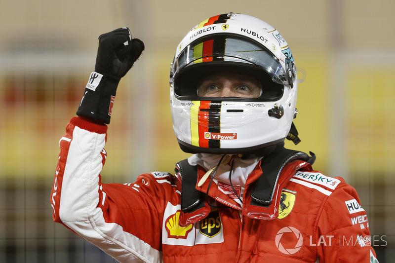 Pole: Sebastian Vettel, Ferrari SF71H