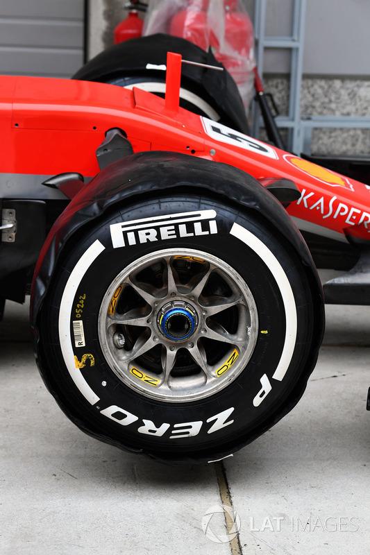 Ferrari SF71H front wheel