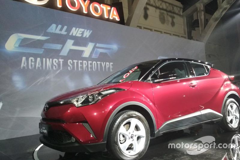 Peluncuran Toyota C-HR Indonesia