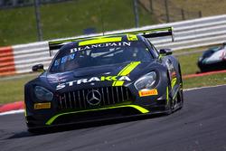 #42 Strakka Racing Mercedes-AMG GT3: Nick Leventis, Chris Buncombe, Lewis Williamson