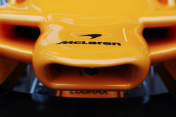 McLaren nose and logo detail