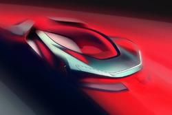 Teaser hypercar Pininfarina électrique