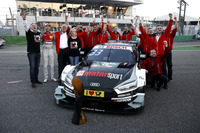 René Rast, Audi Sport Team Rosberg, Audi RS 5 DTM celebrate with the team