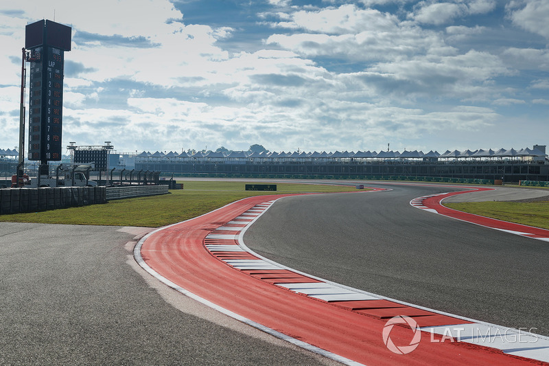 Circuit of the Americas track view