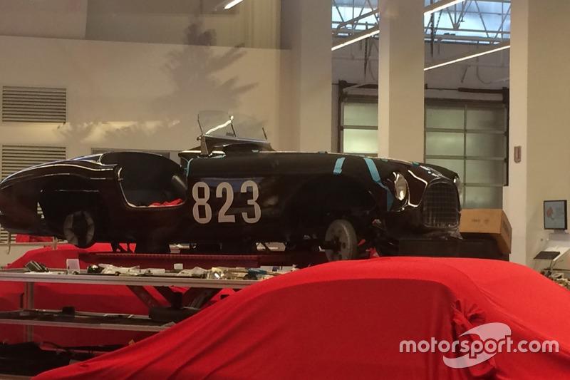 Vintage restauración de Ferrari